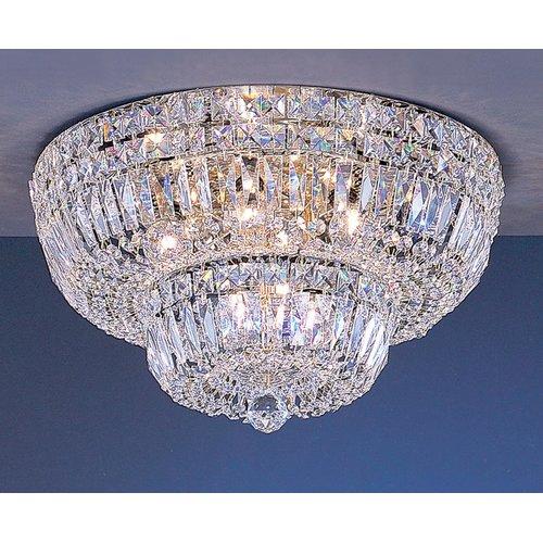 Classic Lighting Empress 9 Light Semi-Flush Mount