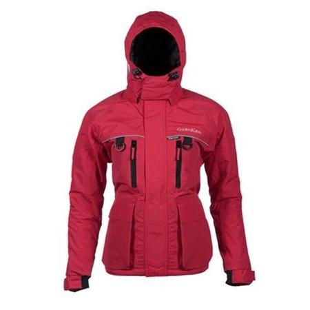 Striker Ice Guardian Womens Surefloat Ice Fishing Jacket - Red - Sz. 16 (16 Jacket)