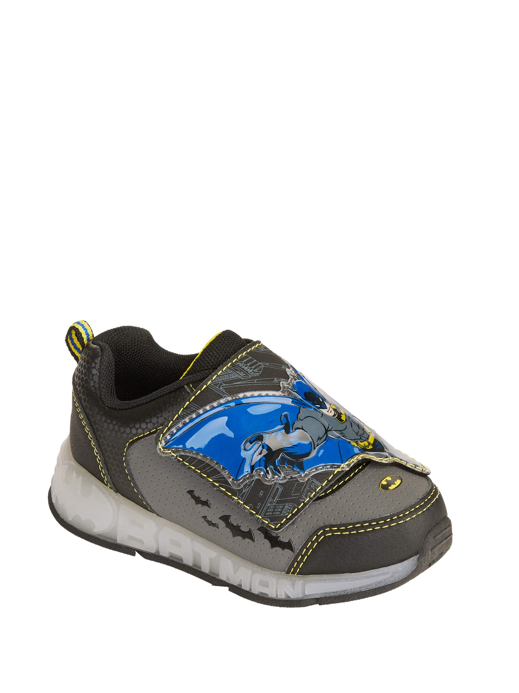 Batman Boys' Lighted Athletic Shoes