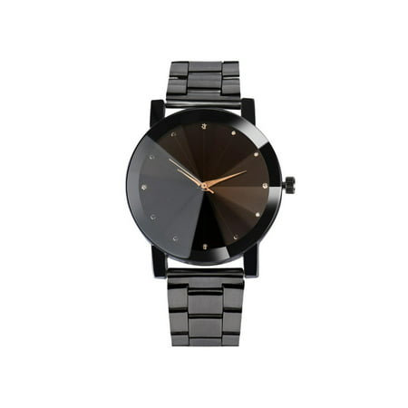 Alloy Quartz Analogue Metal Band  Shell Couple Watch HITC