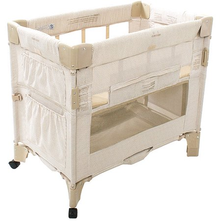 Arms Reach Mini Co Sleeper Bassinet Toffee Gingham