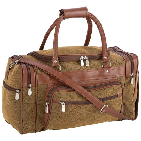 Travel Gear 17 Faux Leather Tote Bag