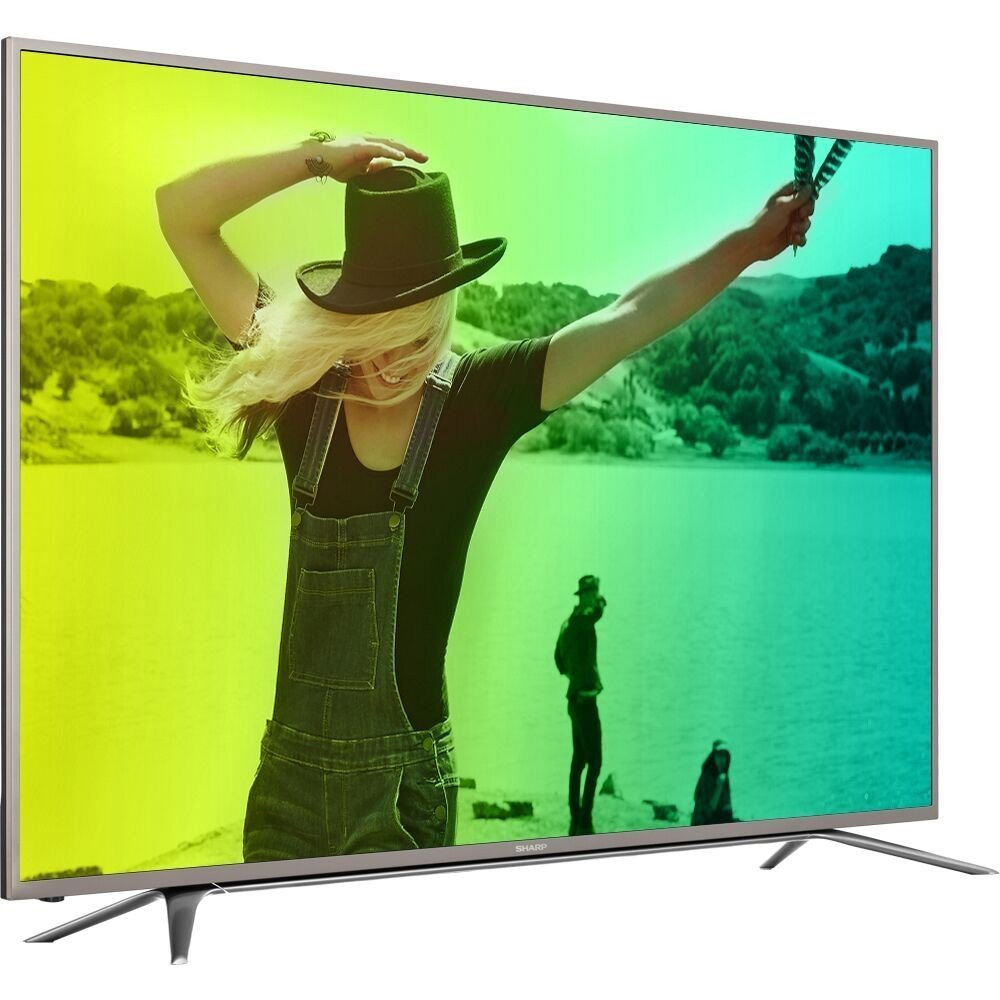 HISENSE Sharp 55 Class 4K (2160P) Smart LED TV (LC55N7000U)