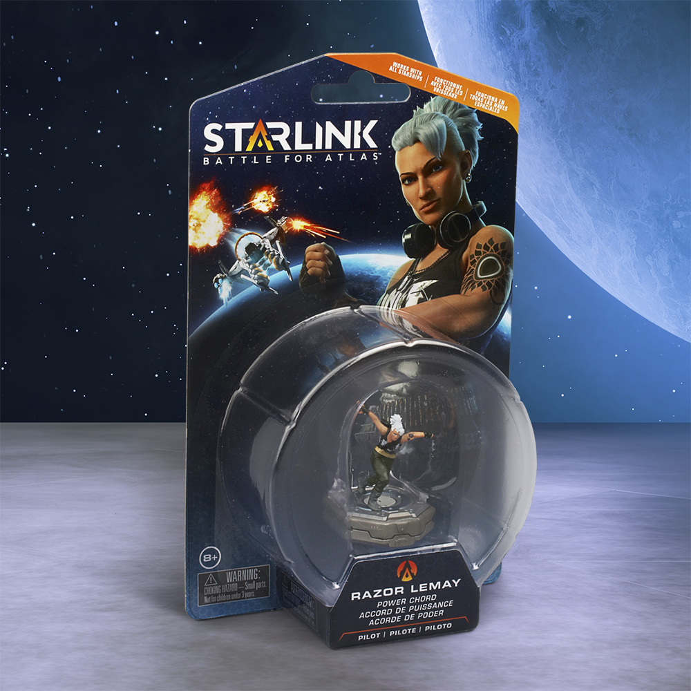 Ubisoft, Starlink: Battle for Atlas Pilot Pack, Razor Lemay, UBP90902145