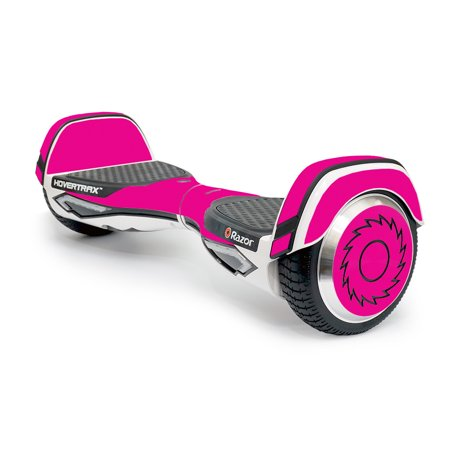 MightySkins Skin Compatible With Razor Hovertrax 2.0 Hover Board - Solid Hot Pink | Protective, Durable, and Unique Vinyl Decal wrap cover | Easy To Apply, Remove, and Change Styles | Made in the USA