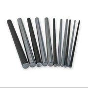 PBC Linear NIL08-060.000 Shaft, RC60 Steel, 0.500 In D, 60 In