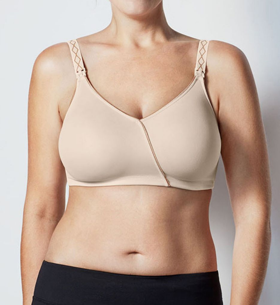 The Essential Embrace Nursing Brace -- Style 122DE (34D/E, Black Purple)