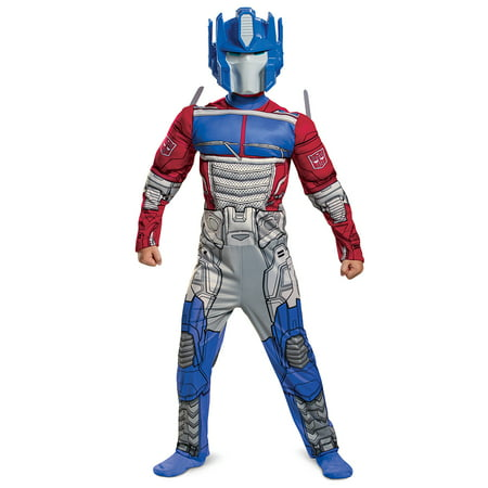 Russell Brand Costume For Halloween (Hasbro's Transformers Boys Optimus EG Muscle Halloween)