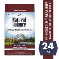 Natural Balance L.I.D. Limited Ingredient Diets Dry Dog Food, 24-Pound