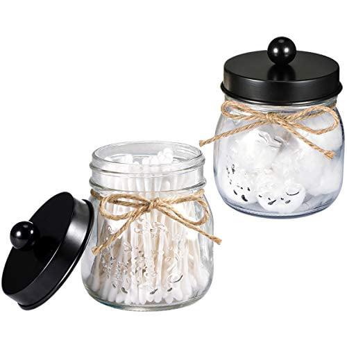 Garden hoe display shelf vintage garden tools Farmhouse look glass mason jar /& silk flowers