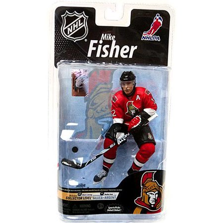 Mcfarlane Nhl Sports Picks Series 26 Mike Fisher Action Figure  Red Jersey