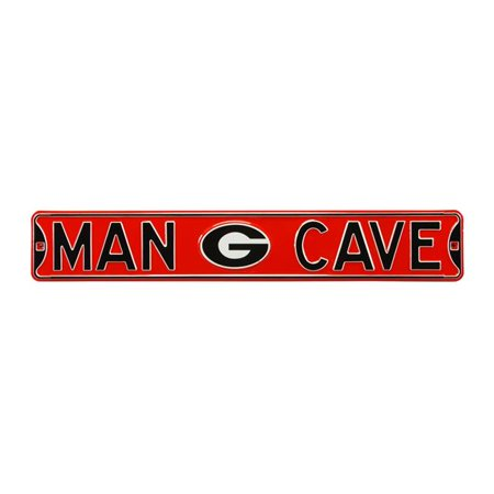 Authentic Street Signs 70287 Georgia Bulldogs Man Cave Street Sign - image 1 of 1