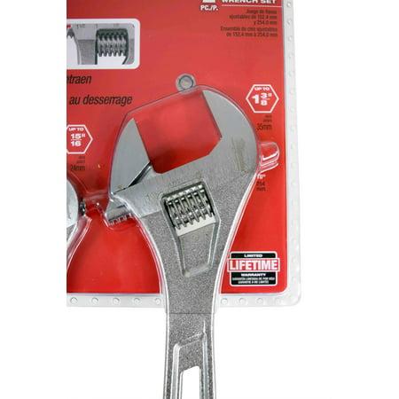Milwaukee Wrench Set Adjacent, 6 & 10 48-22-7400