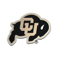 Colorado Buffaloes Metallic Freeform Logo Auto Emblem - No Size