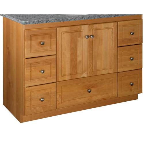 Strasser Woodenworks Simplicity 48'' Bathroom Vanity Base Only