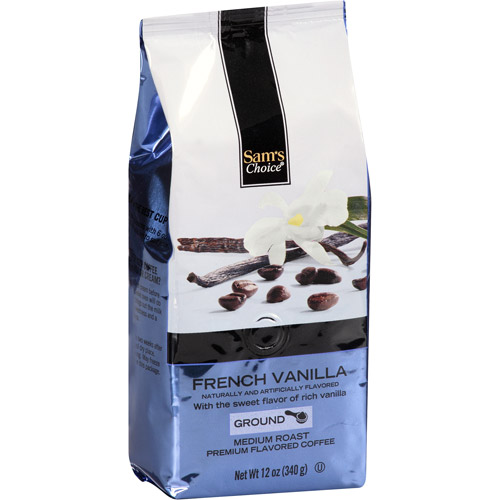 Sam's Choice French Vanilla Medium Roast Ground Coffee, 12 oz