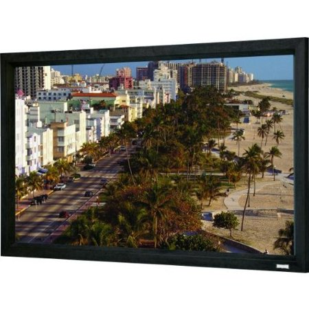 Da-Lite 106″ Diagonal HDTV Format Home Theater Fixed Frame Screen with Dual Vision Fabric