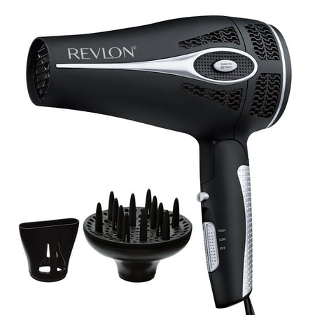 Tourmaline Collection (Revlon Pro Collection Style and Go Retractable Cord Folding Handle Hair Dryer,)