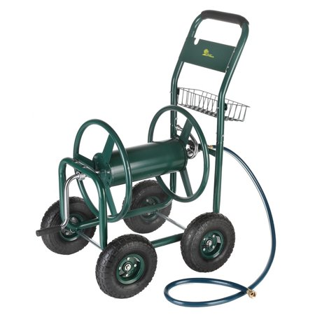 Image of Palm Springs Garden Heavy Duty Water Hose Reel Cart - Hold up to 230FT x 5/8â