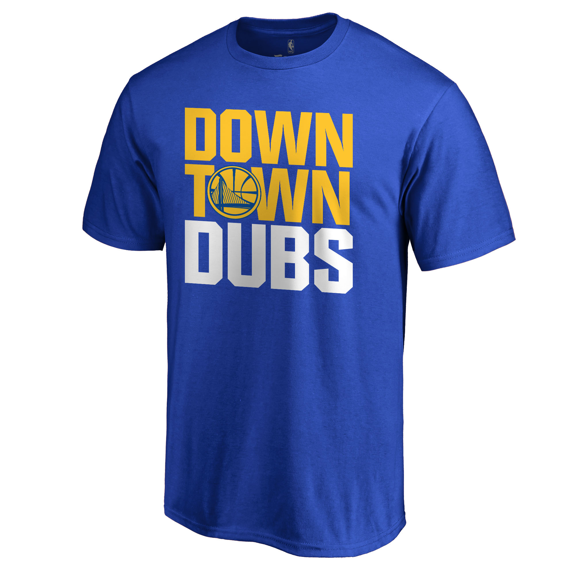 Golden State Warriors Hometown Collection Downtown T-Shirt - Royal