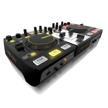 Mixvibes Umixcontrolpro All In One Dj Controller With Built-in Audio Interface And Cross Dj Software