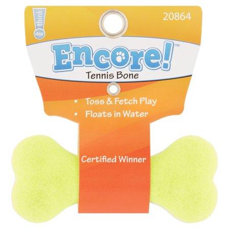Encore Small Tennis Bone Dog Toy