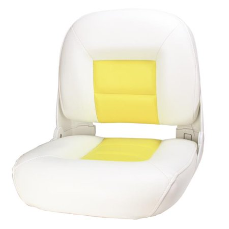 Tempress 60860 Navistyle Boat Seats - White, Yellow