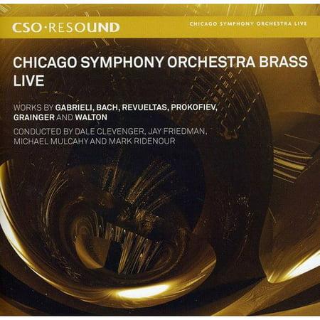 Gabrieli/Bach/Revueltas/Prokofiev/Grainger/Walton/ - Chicago Symphony Orchestra Brass: Live - Chicago Symphony Brass