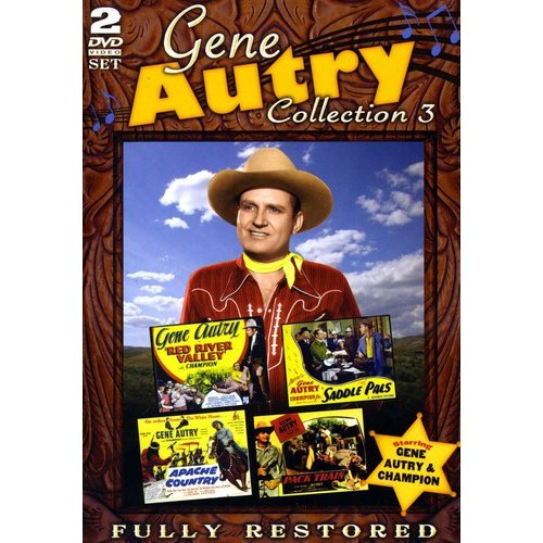 Gene Autry Movie Collection 3: Red River Valley / Saddle Pals / Apache Country / Pack Train (Full Frame)