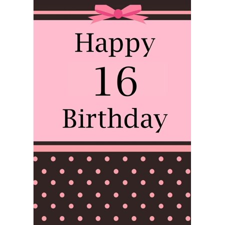 Happy Birthday: Birthday Journal or Notebook for 16 Year Old Girl: Birthday Journal or Notebook for Writing, Drawing or Doodling (Paperback)