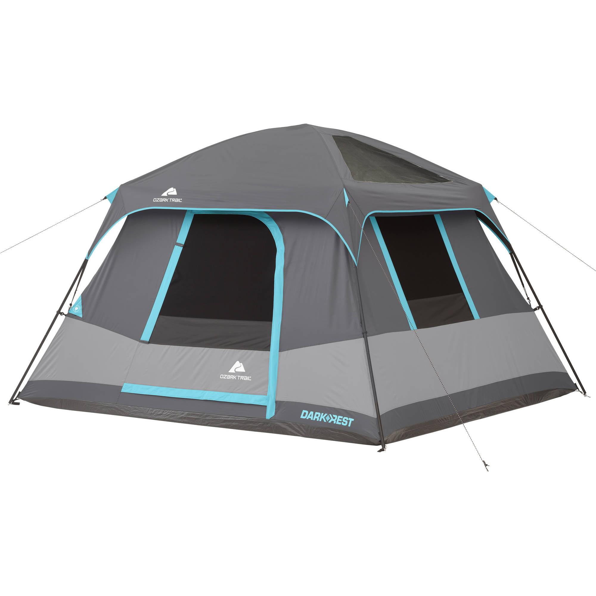 Ozark Trail 10' x 9' Dark Rest Frp Cabin Tent, Sleeps 6 by Bohemian Travel Gear Limited