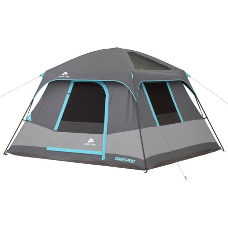 Ozark Trail 10' x 9' Dark Rest Cabin Tent, Sleeps