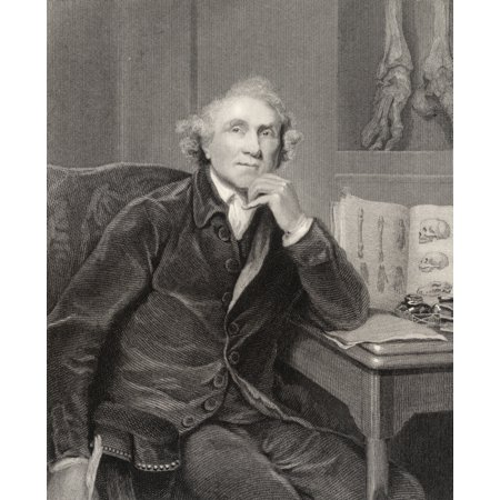 John Hunter 1728 To 1793 Scottish Surgeon Founder Of Pathological ...