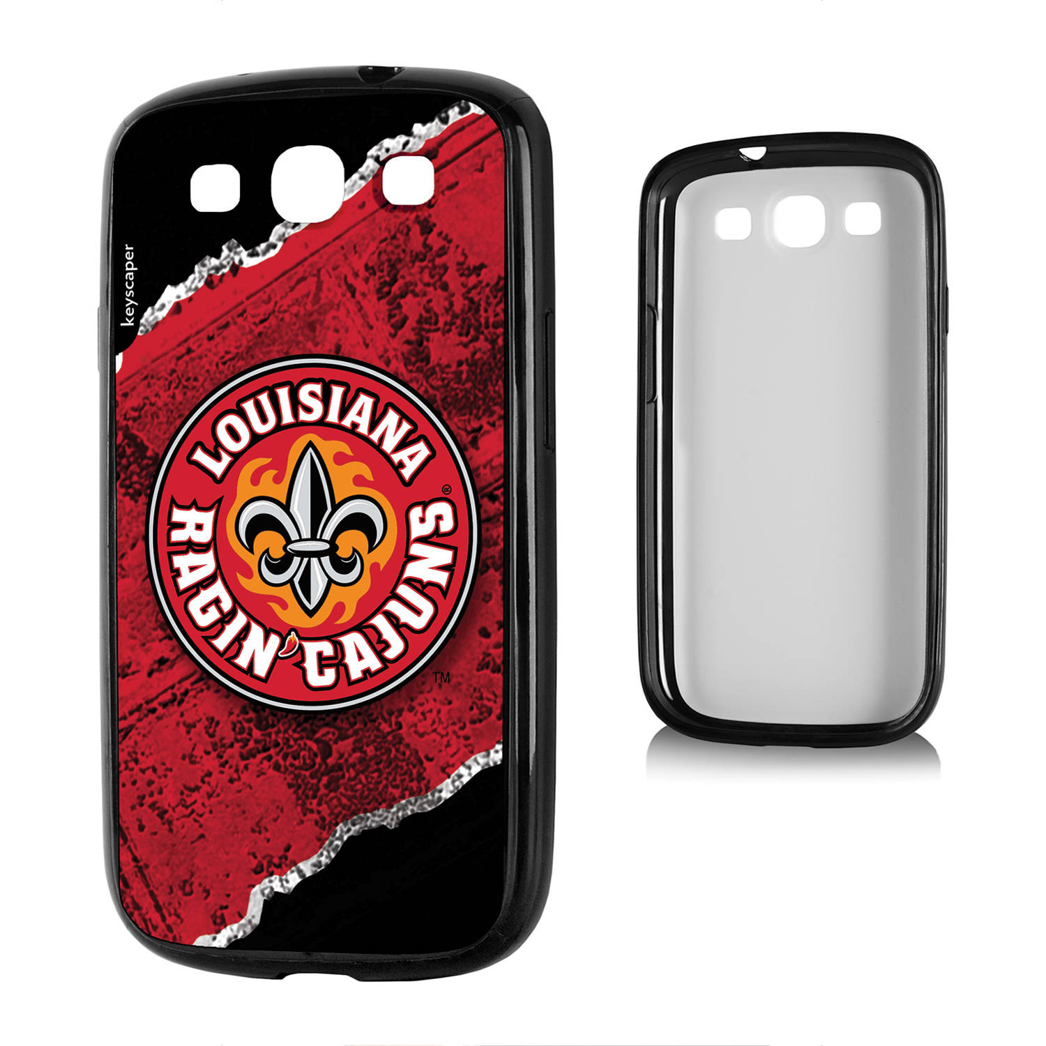 Louisiana Lafayette Ragin' Cajuns Galaxy S3 Bumper Case