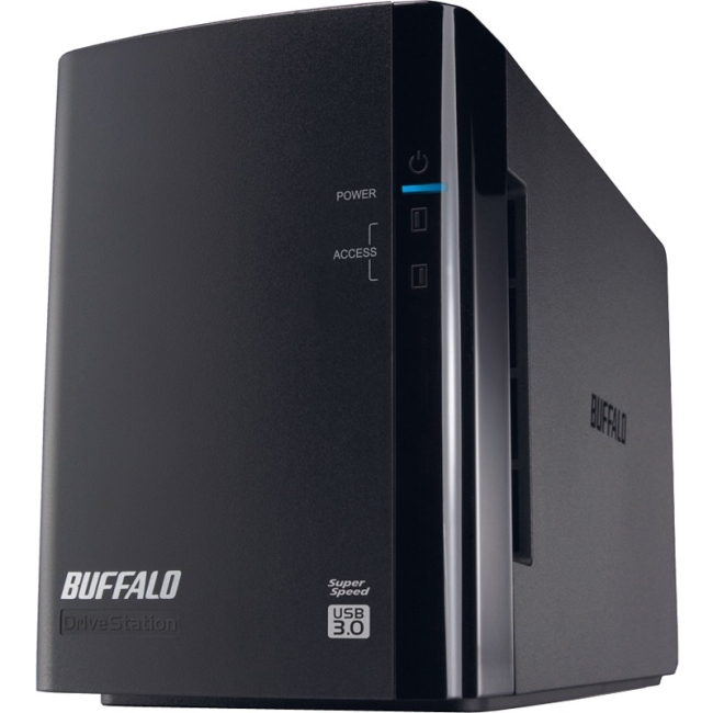 Buffalo Drivestation Pro Hd-wh4tu3/r1 Das Array - 2 X Hdd Installed - 4 Tb Installed Hdd Capacity - Serial Ata/300 Controller - 2 X Total Bays - Usb 3.0 External (hd-wh4tu3r1)
