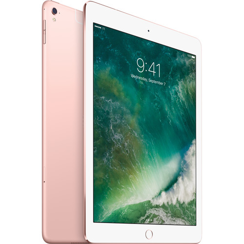 "Apple iPad Pro 9.7"" Tablet Retina Display 32GB Wi-Fi + 4G LTE Rose Gold - New in Frustration-Free Non-Retail Packaging"