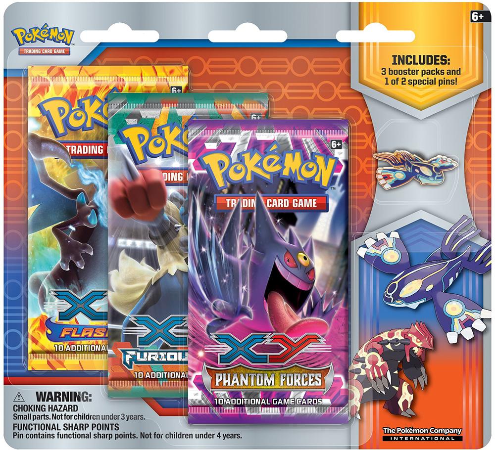Primal Kyogre Card Pokemon Primal Reversion Primal Kyogre Collector Pin Pack