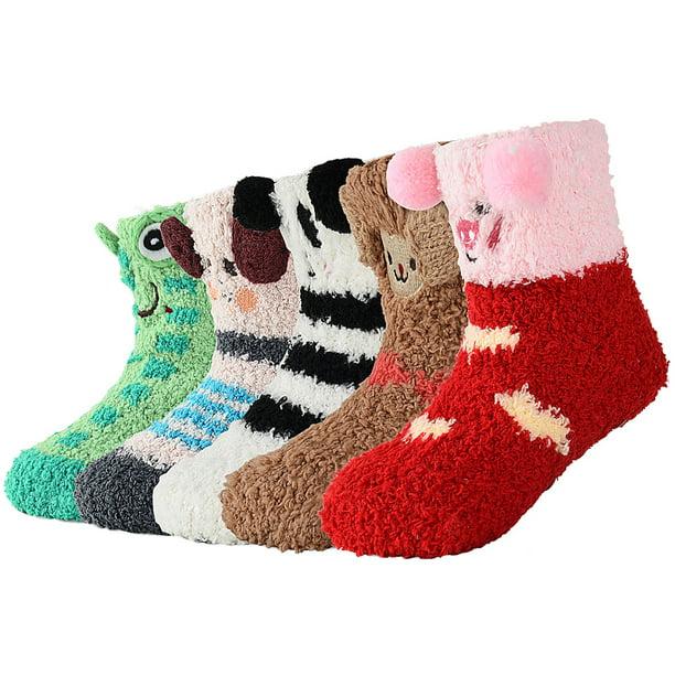 Kids Socks Warm Thick Socks for Baby Toddler Child Boys Girls Anti Slip Fashion Unisex Socks