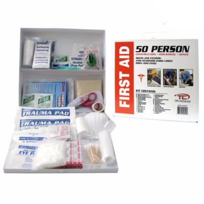 230 Piece Emergency First Aid Cabinet Box Safety Supply Kit FirstAid Osha Wall Set