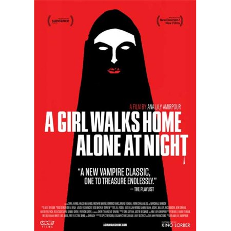 Pop Culture Graphics MOVCB57245 A Girl Walks Home Alone at Night Movie Poster, 11 x 17](Home Alone Poster)