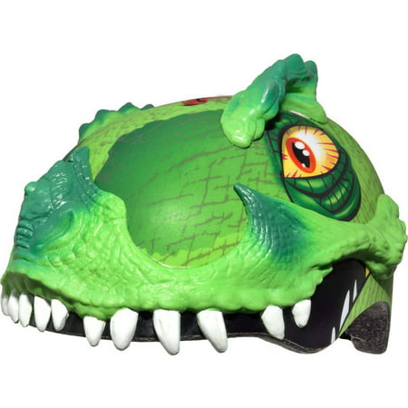 Raskullz T-Rex Awesome Green Helmet, Child 5+ - Green Bay Helmets