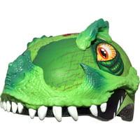 Raskullz T-Rex Awesome Green Helmet, Child 5+ (50-54cm)