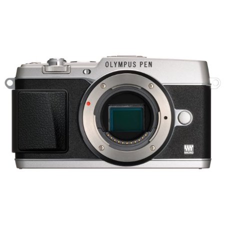 16.1 Mp Mirrorless Camera (Olympus E-P5 16.1 MP Compact System Camera with 3-Inch LCD- Body Only (Silver with Black)