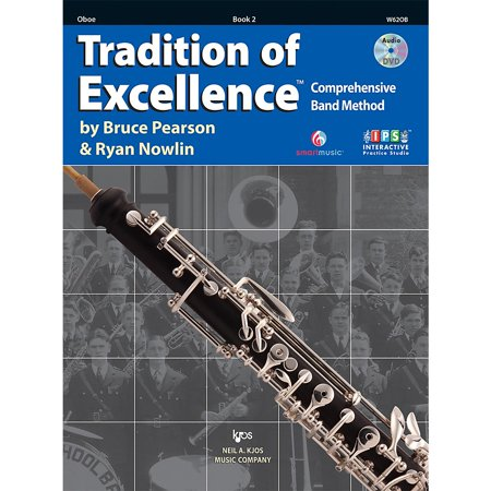 Vol 1 Oboe (KJOS Tradition Of Excellence Book 2 for Oboe )