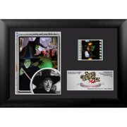 Trend Setters Wizard of Oz 75th Anniversary (Wicked Witch) Mini FilmCell Presentation Framed Memorabilia