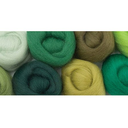 """Wool Roving 12"""", .25 Ounce, 8-Pack"""
