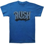 Rush Men's  Original Heather Royal Blue Slim Fit T-shirt Heather Blue