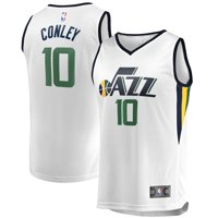 Mike Conley Utah Jazz Fanatics Branded White Fast Break Replica Jersey - Association Edition