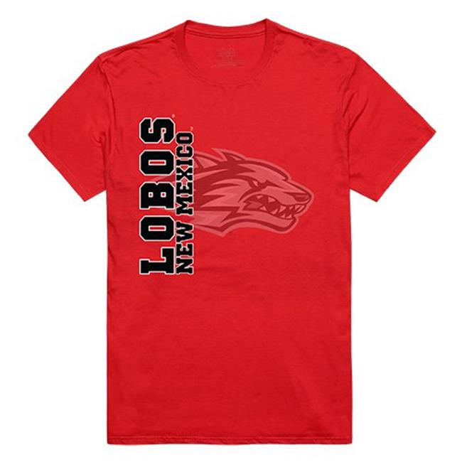 W Republic Apparel 515-182-R58-02 University of New Mexico Mens Ghost Tee, Red - Medium - image 1 of 1