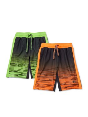 Russell Boys 4-18 2-Pack Fade Down Print Active Shorts